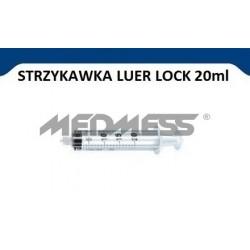 Strzykawka 20 ml LUER LOCK, 100 szt