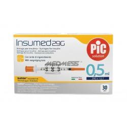 Strzykawki insulinowe INSUMED 0,5 ml G29x12,7 mm 30szt