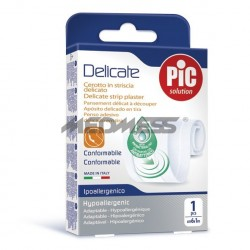 PIC Solution Plaster DELICATE 6cm x 1m antybakteryjny