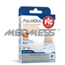 PIC Solution Plastry AQUABLOC 19x72mm 20 szt