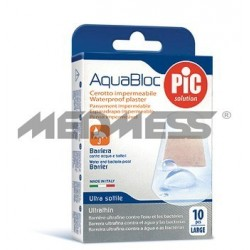 PIC Solution Plastry AQUABLOC 25x72mm 10 szt