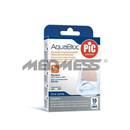 PIC Solution Plastry AQUABLOC 25x72mm 10 szt