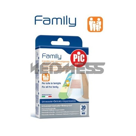 PIC Solution Plastry Family MIX 20 szt