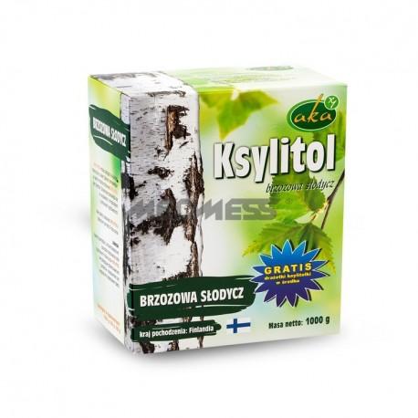 Ksylitol krystaliczny - naturalna substancja słodząca 1000g