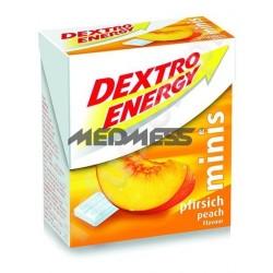 Dextro Energy Minis o smaku brzoskwiniowym 50g - glukoza w tabletkach