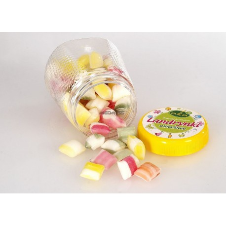 Landyrki owocowe 0% cukru - owocowe landyrnki z ksylitolem 160g