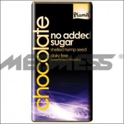 Z ziarnami konopii 100g - Słodzona ksylitolem organiczna czekolada