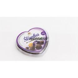 Śliwka w czekoladzie deserowej z fruktozą 110g