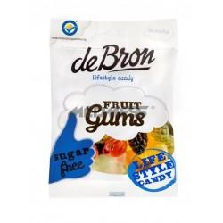 Żelki owocowe bez glutenu i bez cukru 100g