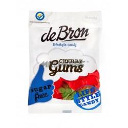 Żelki wiśniowe bez glutenu i bez cukru 90g