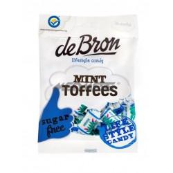 Miętowe cukierki Toffee bez cukru, glutenu i barwników 90g