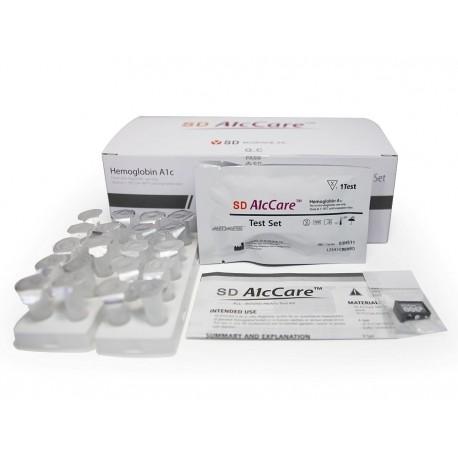 SD A1cCare Zestaw Testowy do oznaczania hemoglobiny glikowanej