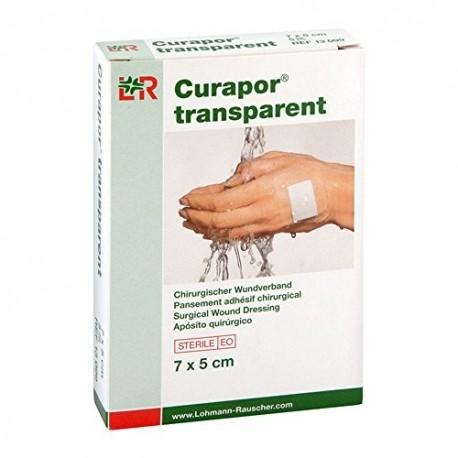 Curapor ®  Przezroczysty foliowy opatrunek do zabezpieczania ran - różne rozmiary