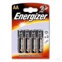 Baterie alkaiczne Energizer, 4 sztuki AA 1.5