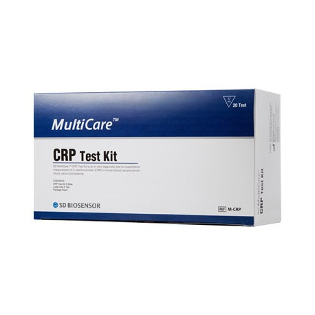 MultiCare CRP - Zestaw Testowy do oznaczania CRP