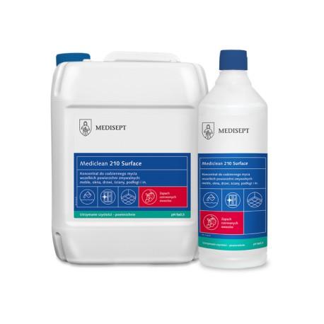 Mediclean 210 Surface Czerwone owoce - Koncentrat do mycia powierzchni zmywalnych