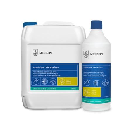 Mediclean 210 SurfaceZielona herbata - Koncentrat do mycia powierzchni zmywalnych