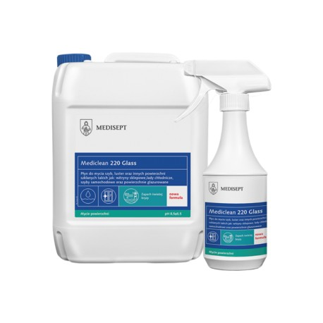 Mediclean 220 Glass - Preparat do mycia szyb