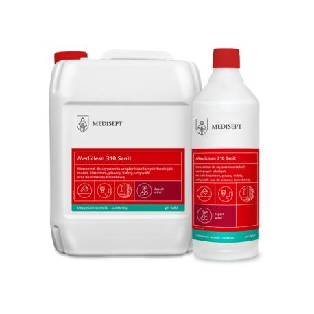 Mediclean 310 Sanit Wiśnia - Koncentrat do mycia urządzeń sanitarnych o zapachu wiśni