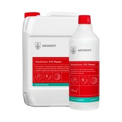 Mediclean 315 Power - Silny koncentrat do mycia urządzeń sanitarnych bezzapachowy