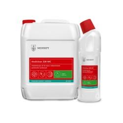 Mediclean 320 WC - Antybakteryjny żel do mycia i odkamieniania sanitariatów