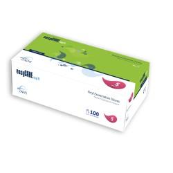 easyCARE vinyl PF - rękawice diagnostyczne winylowe - 100 szt