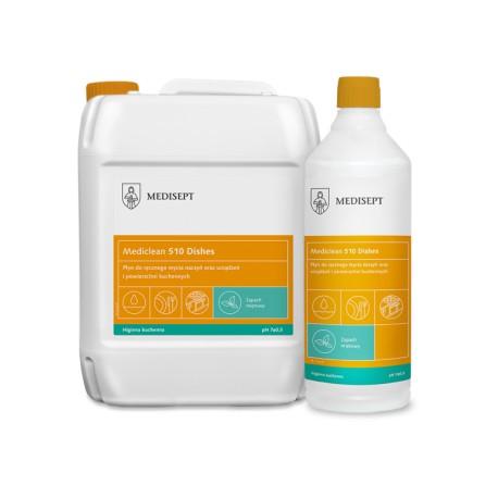Mediclean 510 Dishes Miętowy - Płyn do ręcznego mycia naczyń