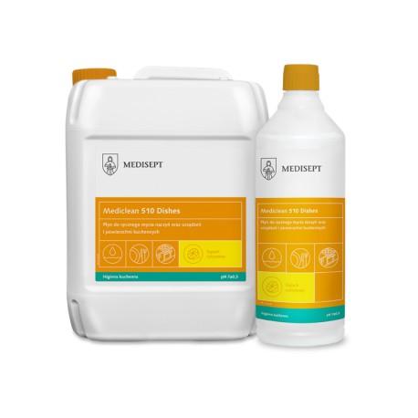 Mediclean 510 Dishes Cytrynowy - Płyn do ręcznego mycia naczyń