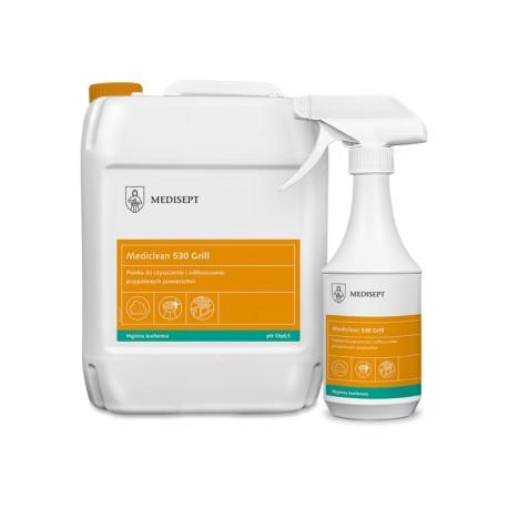 Mediclean 530 Grill - Pianka do czyszczenia i odtłuszczania przypalonych powierzchni