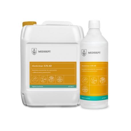 Mediclean 570 All Clean - Koncentrat do czyszczenia powierzchni w przetwórstwie spożywczym