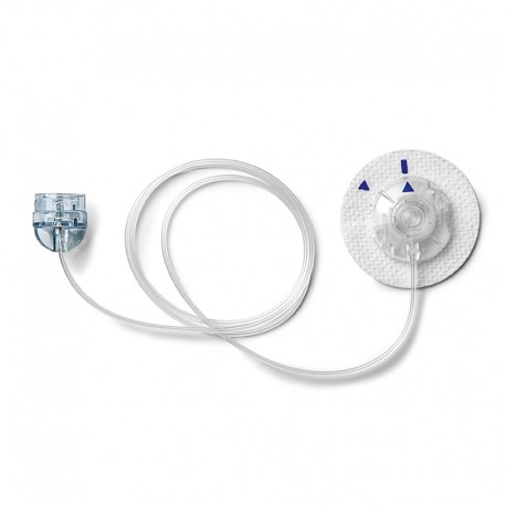 Wkłucie miękkie MiniMed Quick-set Luer Lock - MMT 393 - dren 60 cm, kaniula 6mm