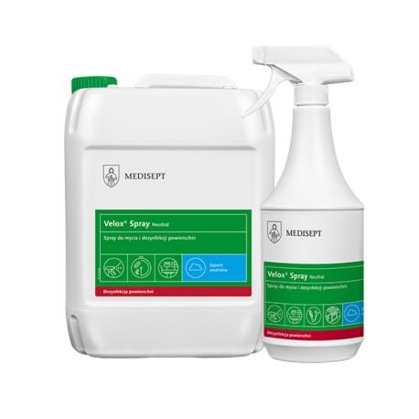 Velox Spray Neutral - Spray do mycia i dezynfekcji powierzchni