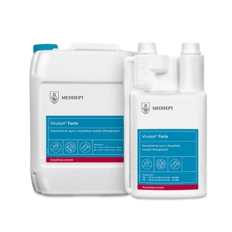 Viruton® Forte  koncentrat do mycia i dezynfekcji instrumentów chirurgicznych i rotacyjnych
