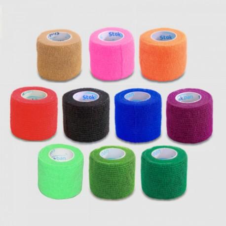 Stokban Felex Coban 5cm x 4,5m bandaż elastyczny samoprzylepny – różne kolory