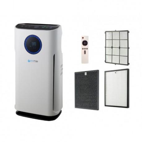 OROMED Oczyszczacz powietrza ORO-AIR PURIFIER HEPA PREMIUM z wielopoziomową filtracją z filtrem HEPA H13