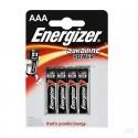 Baterie alkaiczne Energizer, 4 sztuki AAA 1.5