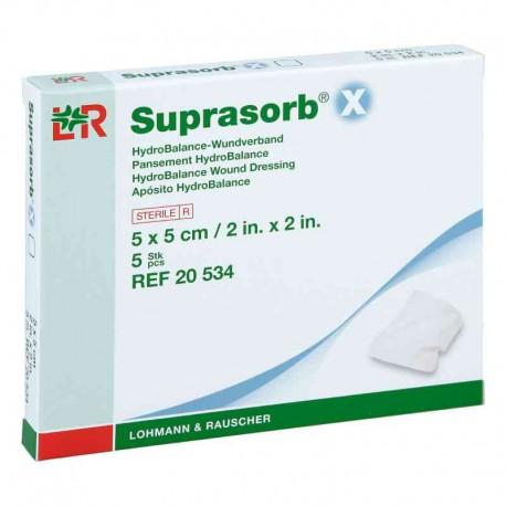 Suprasorb X - Opatrunek HydroBalance regulujący poziom wilgotności rany