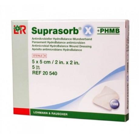 Suprasorb X+PHMB - Opatrunek HydroBalance z PHMB przeciwbakteryjny