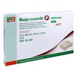 Suprasorb P silicone - Opatrunek z pianki poliuretanowej z silikonową warstwą kontaktową