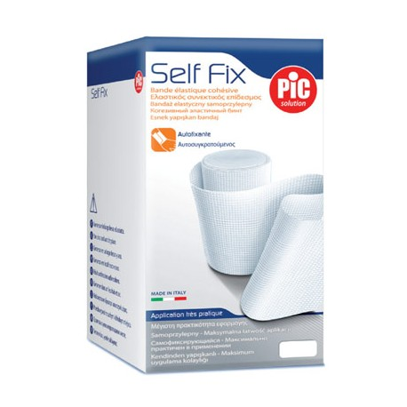 PIC Solution Bandaż elastyczny samoprzylepny SELF FIX 4cm x 4m