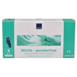 ABENA Rękawice diagnostyczne niebieskie nitrylowe bezpudrowe - 150 szt