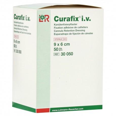 Curafix i.v. - Opatrunek do mocowania kaniuli, włókninowy