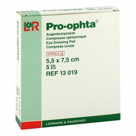 Pro-ophta Eye Dressing Pad - Opatrunek kompres na oko