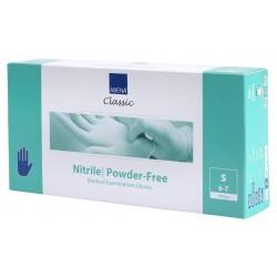 ABENA Nitrile Classic - rękawice diagnistyczne nitrylowe niebieskie 100 szt