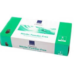 ABENA Rękawice diagnostyczne niebieskie nitrylowe bezpudrowe - 100 szt