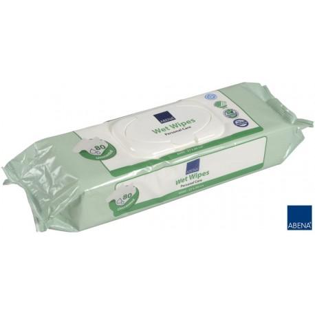 Chusteczki nawilżane 20x27cm (80szt.) bezzapachowe