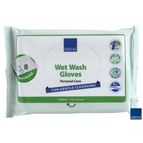 ABENA Rękawica do mycia ciała 8 szt - bezzapachowe