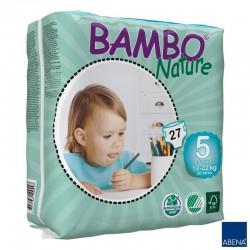 Pieluszki Bambo Nature Junior 5 12-22 kg 27szt.