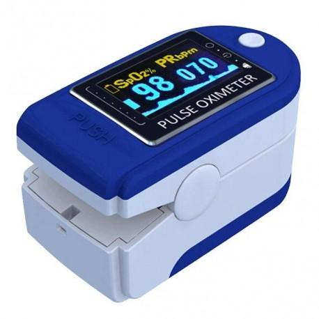 Medyczny pulsoksymetr napalcowy pulsometr