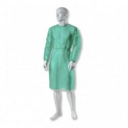 ZARYS BETAtex Fartuch medyczne rozmiar L - duży, zielony) 10 szt.